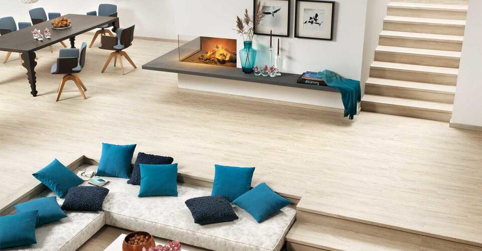 Bodenbelag Vinylboden im Wohnraum